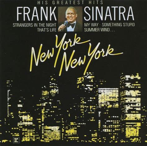 song nyc new york new york his greatest hits frank sinatra