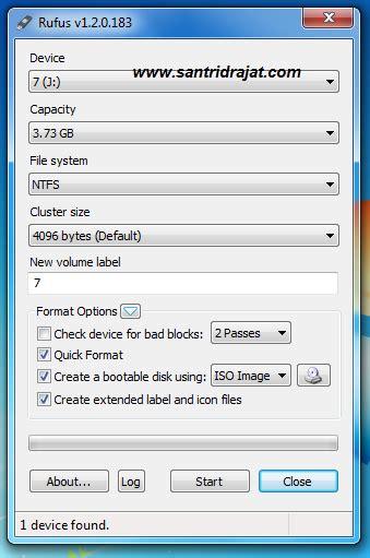 cara membuat bootable usb hackintosh di windows cara membuat bootable windows di usb flasdisk santri drajat