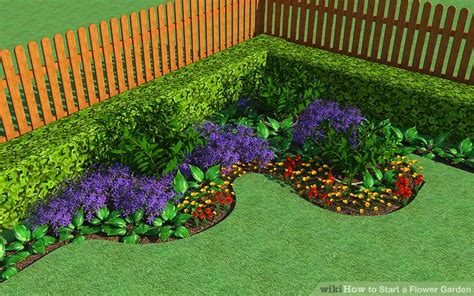 a flower garden how to start a flower garden with pictures wikihow