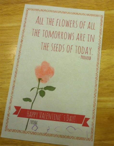 valentines cards for teachers easy valentines free printable just is a four