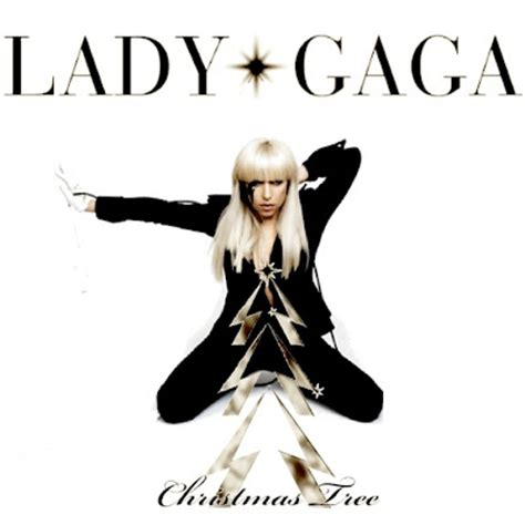 just cd cover lady gaga christmas tree mbm single cover