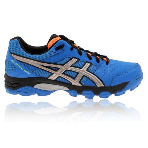 asics gel lethal mp 6 hockey shoes mens blue asi3452 asics