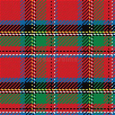 kilt pattern download vector seamless pattern scottish tartan royal stewart