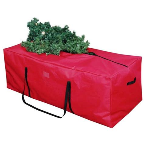red christmas tree storage bag