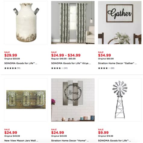 kohl s cardholders up to 80 off farmhouse inspired home kohl s cardholders up to 65 off farmhouse style decor