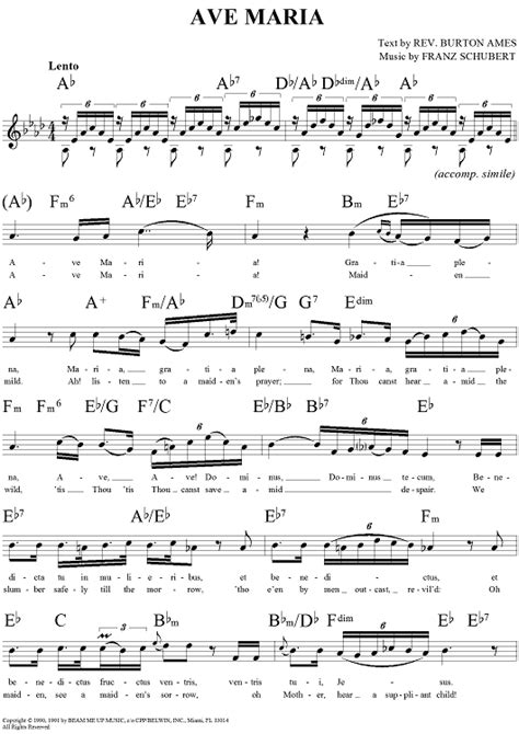 free printable sheet music ave maria ave maria sheet music music for piano and more