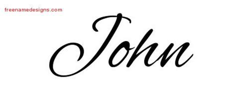 tattoo lettering john cursive name tattoo designs john download free free name