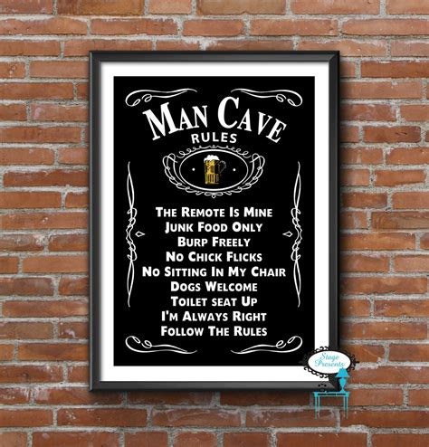 cave sign 16x20 digital wall