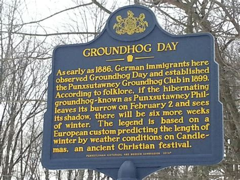 groundhog day history the history of groundhogs day social studies