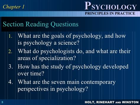 what are the seven contemporary perspectives in psychology ch 1 what is psychology