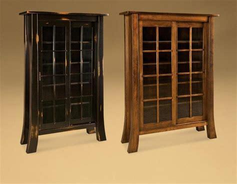 Office Bookcases With Doors Amish Office Furniture Witmer Bookcase With Sliding Doors
