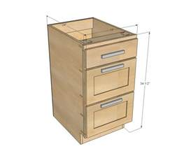 Kitchen Cabinet Bases White 18 Quot Kitchen Cabinet Drawer Base Diy Projects