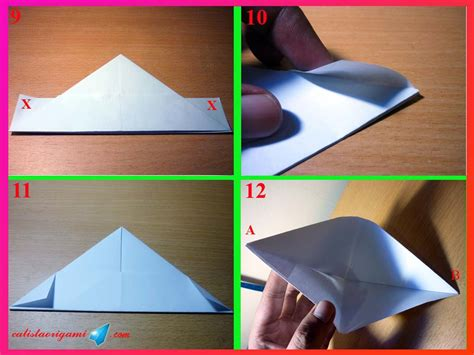 cara mudah membuat origami perahu cara membuat perahu kertas sederhana origami perahu kertas