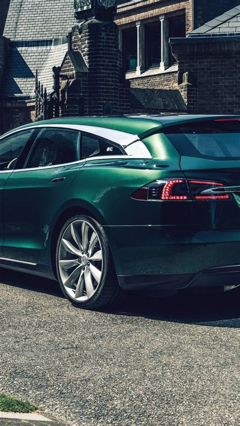 wallpaper tesla model  shooting brake  cars electric car  cars bikes