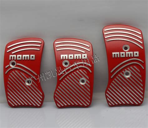Pedal Momo 5 3 pcs sale free shipping aluminum slip proof momo racing car pedals mt foot freadle jpg