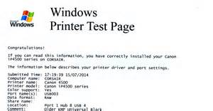 print test page don t know when to run a nozzle print printerknowledge