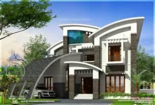 Luxury ultra modern house design kerala home design and floor plans