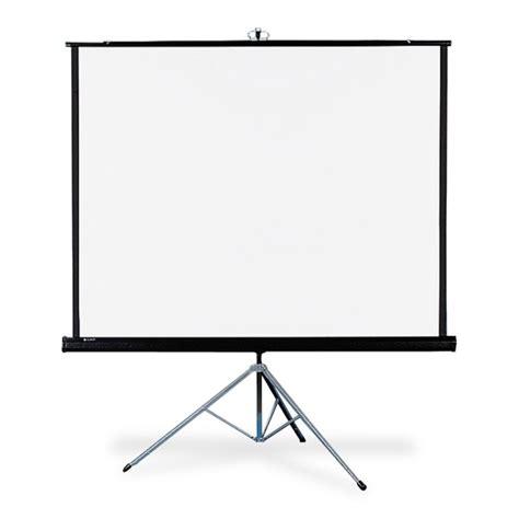 Tripod Screen 70 X 70 quartet 570s portable tripod projection screens 70 quot x 70 quot matte white qrt570s projector