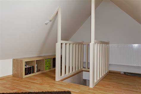 treppe spitzboden spitzboden fertig bauen mit team massivhaus
