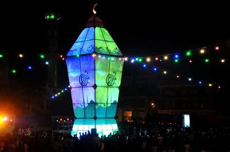 World Ramadan World S Ramadan Lantern Lit Up In Nabatiyeh 961