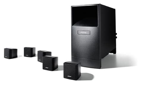 Bose Acoustimass 6 Speaker System bose acoustimass 6 series v home theater speaker system black xcite alghanim electronics
