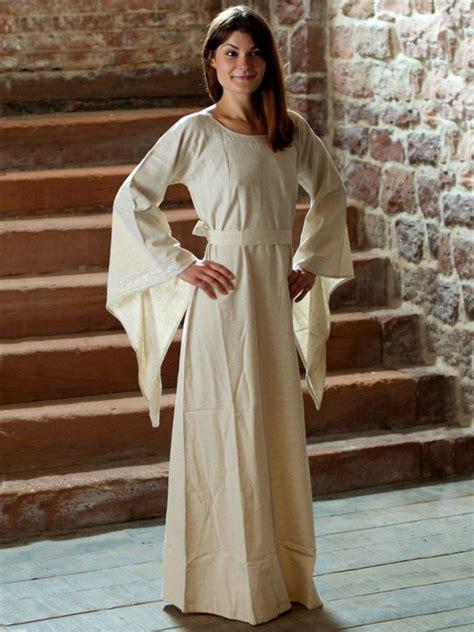 robe medievale en lin la boutique medievale