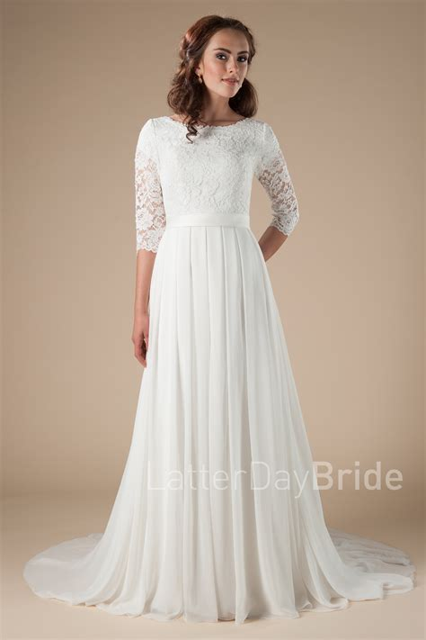 Modest Bridal Gowns by Modest Wedding Dresses