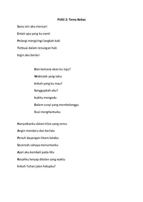 Cara Membuat Puisi Natal | tugas bahasa indonesia puisi