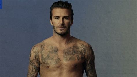 beckham new tattoo 2014 david beckham shows off harper tattoo in new fragrance ad