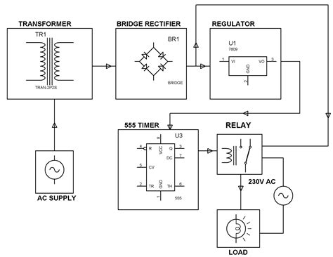 time delay based relay operated load electrical engineering