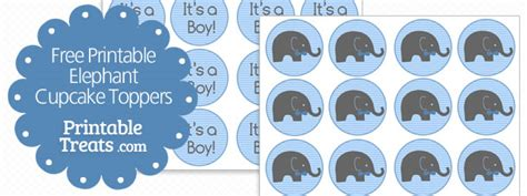 elephant cake template free printable elephant cupcake toppers printable treats