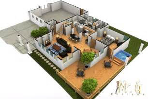 sweet home 3d garten garrett s modern house with tub 3d floorplan