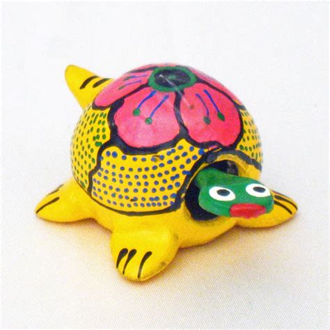 Brightly Colored Mini Mexican Hand-Painted Bobble Turtle ... Luau Food Ideas For Party