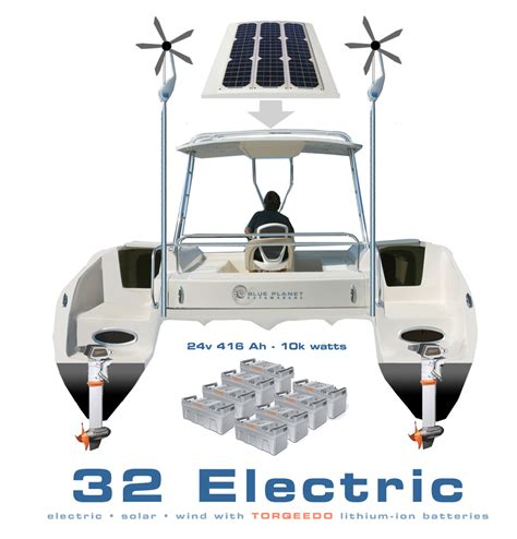 catamaran electric motor blue planet 32e blue planet catamarans setting the