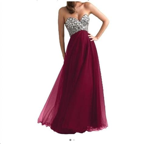 Dress Maroon 1000 ideas about maroon prom dress on