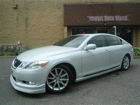 custom lexus gs300 buy used 2006 lexus gs300 awd custom ground effects