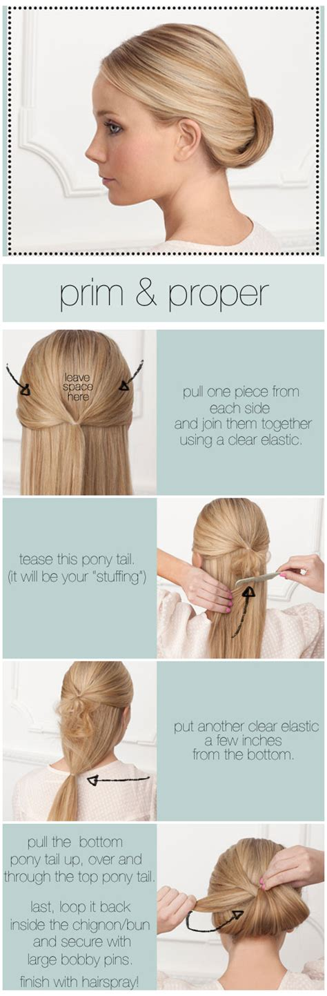 easy diy updo for hair weddings by lilly