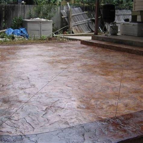 cement patio designs best 25 sted concrete patios ideas on diy