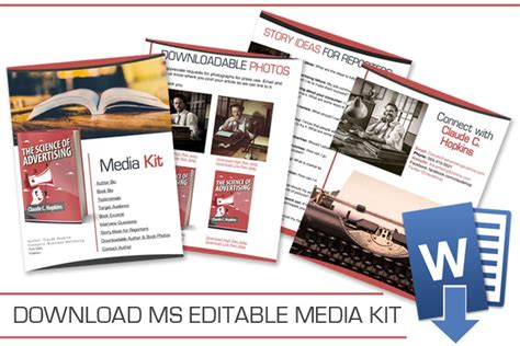 radio media kit template author media kit customizable template