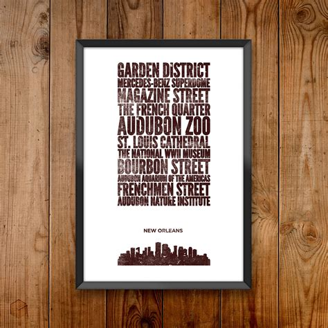 blue new orleans new orleans blue city prints touch of modern