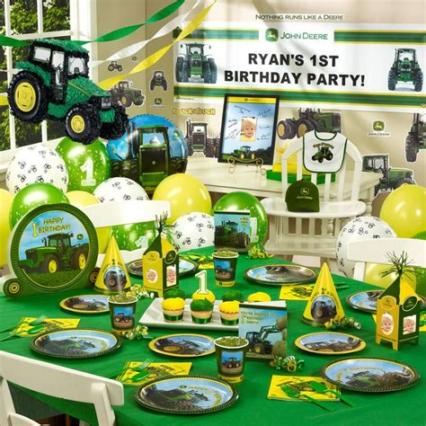 Deere Birthday Decorations by 1000 Ideas About Deere Supplies On