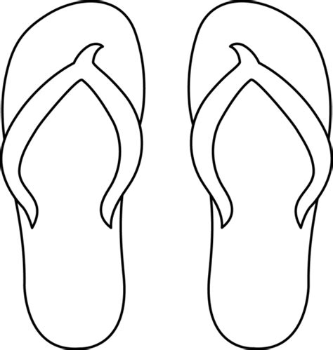 flip flop template flip flop graphics cliparts co