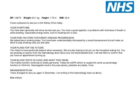 Introduction Letter To Gp Writing Letters To Patients And Copying Gp In