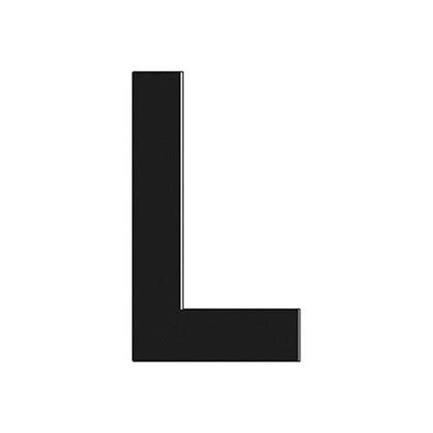 L Black hardline 174 17311 3 quot black letter l