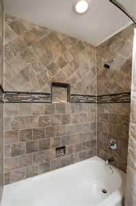 Bathroom Tub Shower Tile Ideas by How To Tile A Bathtub Area Home Improvement