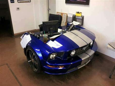 Mustang Desk Cars I Like Pinterest Mustang Desks Car Office Desk