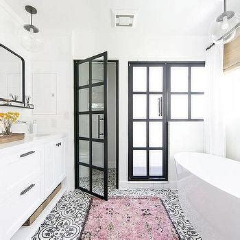 white cement for bathroom tiles black and white cement bathroom floor tiles design ideas