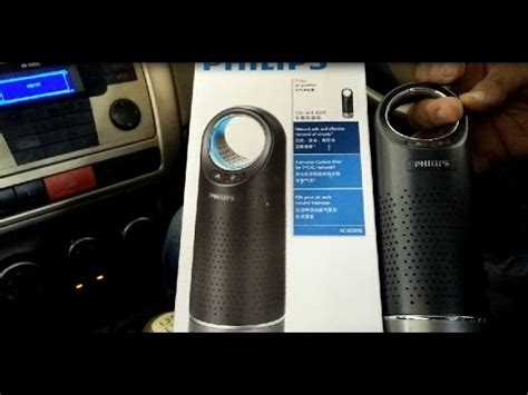 philips car air purifier ac4030 review and demo best car air purifier review by happy pumpkins