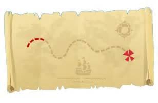 mapa del tesoro jake y los piratas de nunca jamas imagui