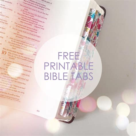 Free Bible Giveaway - 25 best ideas about printable tabs on pinterest planner tabs binder tabs and free